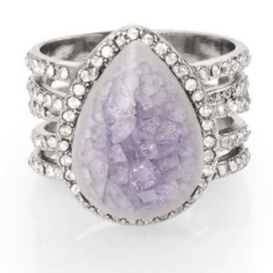 C + I Misty morning statement ring size 7